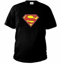 T-SHIRT SUPERMAN  batman simpson griffin maglia FELPA cartoni animati polo NE