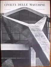 LA CIVILTÀ DELLA MACCHINE n. 2 1960 full index Rivista Gruppo IRI Finmeccanica