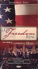 Let Freedom Ring Live From Carnegie Hall VHS - New in Package