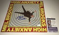 Mel Brooks HIGH ANXIETY Signed RECORD IN PERSON Autograph Proof JSA COA