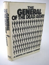 SIGNED 1st Edition GENERAL OF THE DEAD ARMY Ismail Kadare FIRST PRINTING Fiction