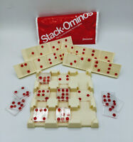 Vintage Game Stack-ominos by Pressman, Replacement Parts Pieces, Crafting