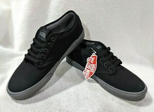 Vans Men's Atwood Black/Gray Check Liner Canvas Skate Shoes - Assorted Sizes NWB