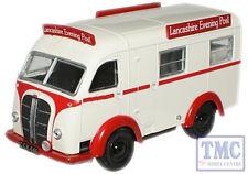76AK001 Oxford Diecast 1:76 Scale Lancashire Evening Post Austin K8 Threeway Van