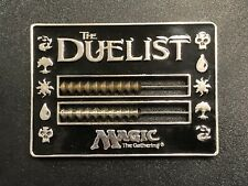 Magic Vintage DUELIST Black Abacus Metal Life Counter 1996 Reaper MTG
