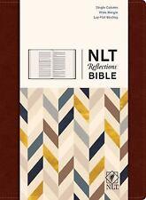NLT2 Reflections Bible-Mahogany Brown-Hardcover