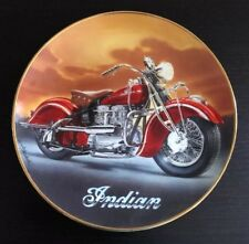 Royal Doulton Plate The 1942 Indian 442 Motorcycle Limited Edition