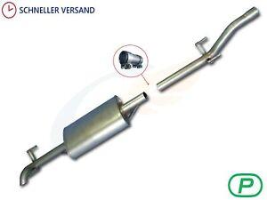 Schalldämpfer MERCEDES-BENZ SPRINTER 208D 308D 408D 2.3D 95-00 Endtopf Auspuff