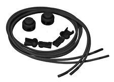 mumbi Schnürsenkel mit Schnellverschluss elastisch schwarz Schnellschnürsystem