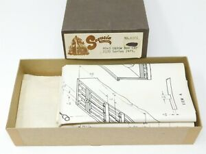 HOn3 Gauge Sequoia Scale Models 6001 D&RGW Rio Grande 24' Box Car Kit
