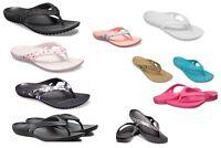 Women's CROCS Kadee ll Flip Sandals Black, Navy, Pink, Leopard ,Flamingo,& MORE