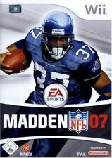 Madden NFL 07 (2007) NINTENDO WII NUOVO SIGILLATO Sealed EDIZIONE UK Inglese