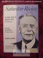 Saturday Review Magazine June 11 1955 ANDRE SIEGFRIED ALLAN NEVINS NATHANIEL BUR