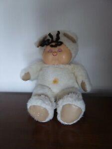 Peluche ours beige Nombrilou Ajena