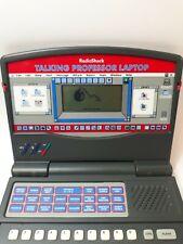 Radio Shack Vantage Talking  professor Laptop Learning Education for Kids 602608
