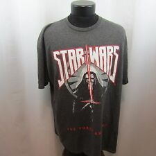Star Wars The Force Awakens Mens Gray XL T-Shirt  NWT