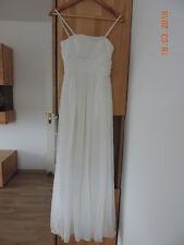 Brautkleid, Standesamtkleid,Gr. 32, Creme, lang, von Apart, gebraucht