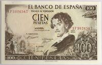 ESPAGNE - 100 PESETAS (1965) - Billet de banque (SPL) 1F