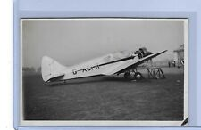 Blackburn B.2  G-ACER	North Sea Aerial & Transportation Co. @'34 RP postcard