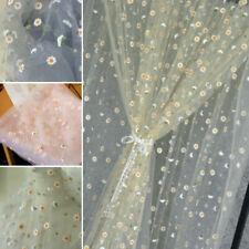 DIY Blumen Stickereien Spitzenrand Stoff Basteln Nähen Applikation Brautkleid