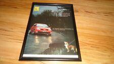 RENAULT MEGANE-2004 framed original advert(1)