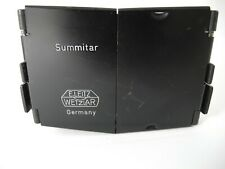 LEICA BLACK PAINT HOOD FOR SOOPD 50mm f2 SUMMITAR