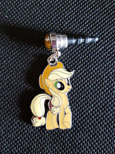 My Little Pony Cell Phone Strap Plug charm Apple Jack Fits most cell phones