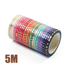 Us Diy 24 Roll Washi Tape Scrapbook Tape for Packing Craft Wrapping Scrapbooking