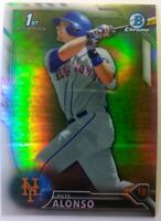2016 16 Bowman Chrome Refractor Pete Alonso Rookie RC #BDC-92, New York Mets