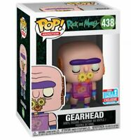 NEW 2018 Funko Pop Figure Rick Morty Gearhead Target 438 NYCC Exclusive