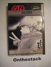 MANGA:   GTO Great Teacher Onizuka Vol. 25 by Tohru Fujisawa (2005, Paperback)