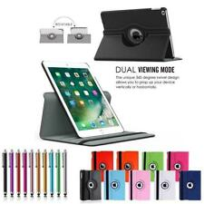 For iPad 2 3 4 Air Mini 9.7 Pro Case Rotating Magnetic Leather Smart Cover Stand