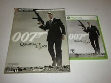 James Bond 007: Quantum of Solace (Xbox 360, 2008) w/ Strategy Guide
