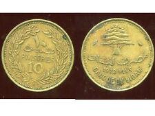 LIBAN   10   piastres 1972