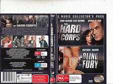 The Hard Corps-2006-Jean Claude Van-Dam/Blind Fury-1989-[2 Disc]-2 Movie-DVD