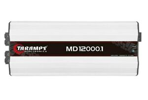 Taramps MD 12000.1 - 0.5 Ohm Amplifier 12000 Watts RMS AMP HALF OHM 12K