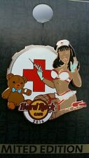 HRC ON LINE,Hard Rock Pin,Sexy Nurse with Bear series 2 of 3,XXX LE 100