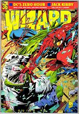 Wizard Magazine #36 - August 1994 - High Grade - Spider-Man / Lizard Cover