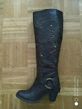 Friis Company Stiefel Leder braun Gr. 38
