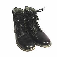 Steve Madden Mens M-Neptun Boot Fashion Combat Plaid Black Winter Shoes Size 9.5