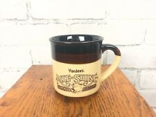 Vintage Hardees Rise and Shine Homemade Biscuits Ceramic Coffee Cup Mug 1989