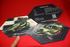 LAMBORGHINI IAA 2019 Pressemappe * SIAN * mit 818 PS Brochure Press Kit