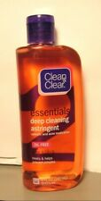 Clean & Clear Essentials Deep Cleaning Astringent Oil Fighting Formula   8 oz.