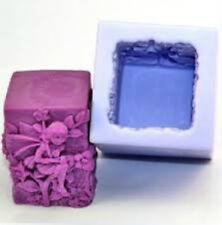 FATA Stampo in silicone quadrata per candele e altre attività artigianali