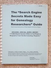 """The """"Search Engine Secrets Made Easy For Genealogy Researchers"""" Guide"""