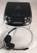 *1994* Jvc Portable Cd Player Xl-P60 Hyper-Bass Sound w/Classic Ge Headphones 1
