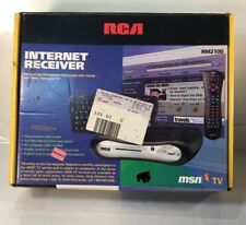 NOS NEW OLD STOCK RW2100 RCA INTERNET RECEIVER KIT WEB TV