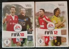 Wii  Spiele  Fifa 10 und Fifa 12