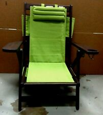 1 Pottery Barn PB Saratoga Outdoor Lawn Garden Patio Pool Yard Wood CHAIR