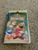 Walt Disney's Masterpiece Fun and Fancy Free (VHS, 1997) Mickey Mouse Limited Ed